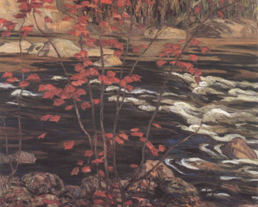 The Red Maple - A.Y. Jackson , 1914. ( 1, 2 & 3 stars ).jpg