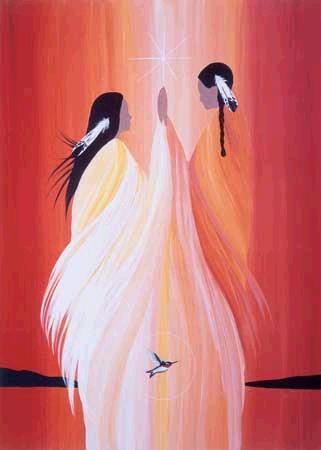 Aboriginal Art Christmas Wish List Matting And Framing